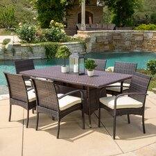 Lakewood Park  7 Piece Dining Set with Cushion