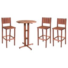 Elsmere 4 Piece Bar Set