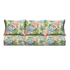 Bronson Pillow and Cushion 6 Piece Sofa Cushion