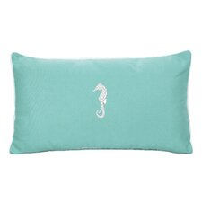 West Perrine Beach Outdoor Sunbrella Lumbar Pillow