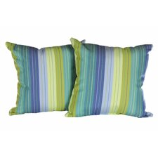 South Gate Ridge Indoor/Outdoor Sunbrella Throw Pillow (Set of 2)