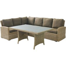 Eustis 9 Piece Deep Seating Sectional with Cushion