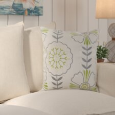 Flower Power Indoor / Outdoor Euro Pillow (Set of 2)