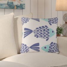 Reviews Lake Sarasota Animal Print Indoor/Outdoor Throw Pillow