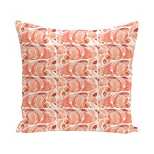 Rocio Fishwich Coastal Outdoor Throw Pillow