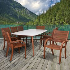 Elsmere Patio 9 Piece Dining Set