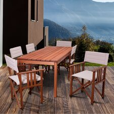 Elsmere Patio 7 Piece Dining Set