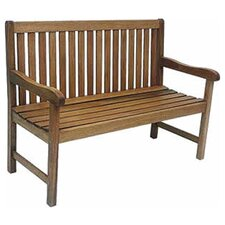 Modern Elsmere Wood Garden Bench