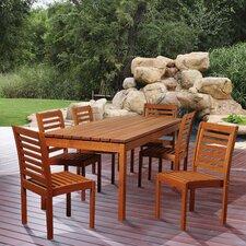 Ospray Eucalyptus 7 Piece Dining Set