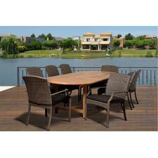 Ibis 9 Piece Dining Set