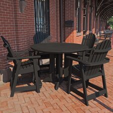 Shelton 5 Piece Counter Height Dining Set