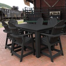 Shelton 7 Piece Counter Height Dining Set