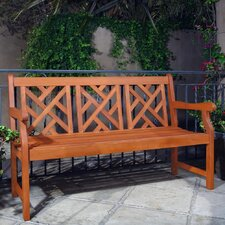 Wyndham Outdoor Eucalyptus Garden Bench