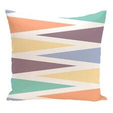 Hollister Backgammon Geometric Outdoor Throw Pillow