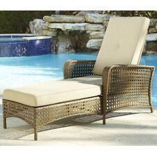 Gretna Chaise Lounge with Cushion