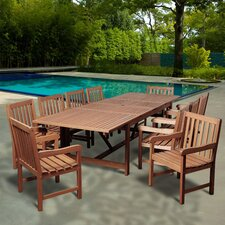Big Coppitt Key 11 Piece Dining Set