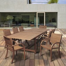 Discount Big Coppitt Key 9 Piece Dining Set