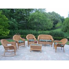 Claremont 6 Piece Lounge Seating Group Set