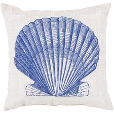 #1 Ruthar Shell of the Sea Outdoor Throw Pillow