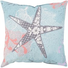 Ruthar Sweet Starfish Outdoor Throw Pillow