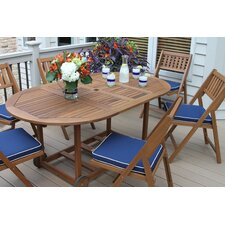 Sherborn 7 Piece Dining Set with Cushion