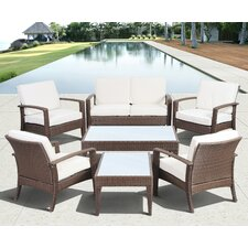 Aquia Creek 7 Piece Lounge Seating Group with Cushion