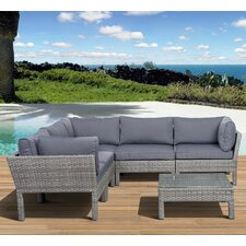 Aquia Creek 6 Piece Deep Seating Group with Cushions