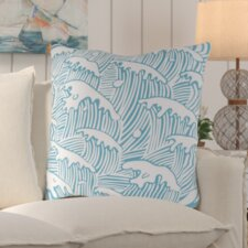 Wonderful Solana Waves of Grace Outdoor Throw Pillow
