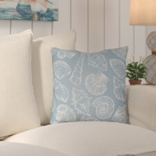 Brookline Shells III Indoor/Outdoor Throw Pillow