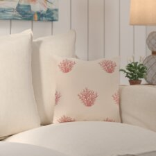 Cypress Lake Coastal Outdoor Throw Pillow