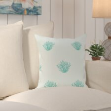 Cypress Lake Coastal Print Outdoor Pillow