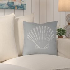 Brookline Shells II Indoor/Outdoor Throw Pillow