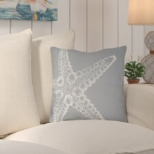 Brookline Nautical III Indoor/Outdoor Throw Pillow