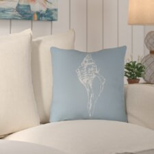 Brookline Shells Indoor/Outdoor Throw Pillow