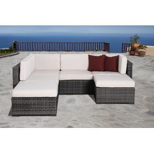Aquia Creek 6 Piece Deep Seating Group with Cushion
