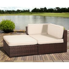 Aquia Creek Corner Sectional Seat with Cushions