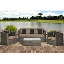 Aquia Creek 5 Piece Seating Group with Cushions