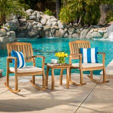 Coyne Acacia 3 Piece Outdoor Set