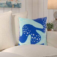 Ruthar Striking Series of Starfish Outdoor Throw Pillow