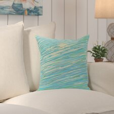 Voluntown Abstract Coastal Decorative Outdoor Pillow