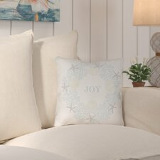 Weston Coastal Joy Indoor/Outdoor Throw Pillow