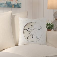 Ruthar Striking Sand Dollar Outdoor Throw Pillow