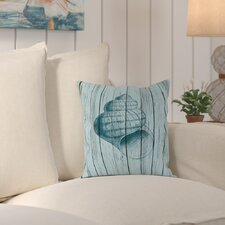 Haddam Wood Shell 3 Outdoor Throw Pillow