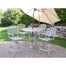 Claremont 6 Piece Bar Set with Umbrella