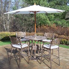 Claremont 5 Piece Bar Set with Cushions