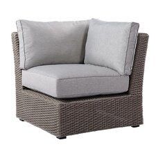 Olmsted Spuncrylic Corner Chair with Cushions