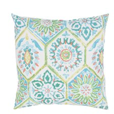 Pierpoint Tribal Pattern Indoor/Outdoor Throw Pillow