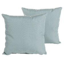Reviews Sterne Spa Outdoor Sunbrella Throw Pillow (Set of 2)