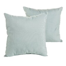 Sterne Indoor/Outdoor Sunbrella Throw Pillow (Set of 2)