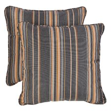 Sterne Greystone Sunbrella Indoor/ Outdoor Throw Pillows (Set of 2)
